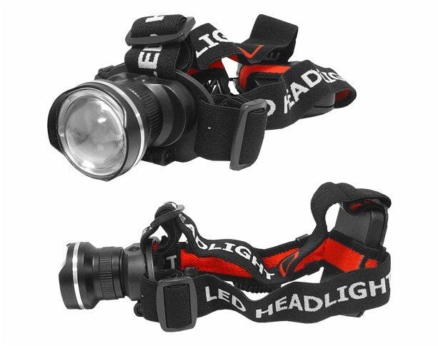 Galvas Lukturis Tiross 7W Cree- XP-EQ5 led art.TS-1103