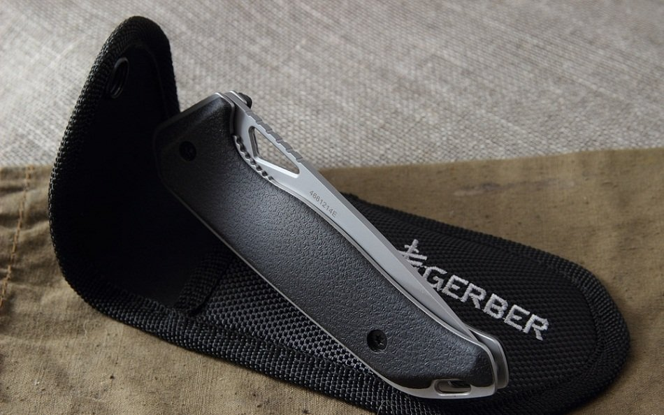 Nazis Gerber Moment Sheath Folder, Drop Point art.31-002209