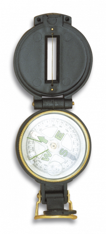 Kompass Dingo Martinez Albainox Fiber melns art.33103