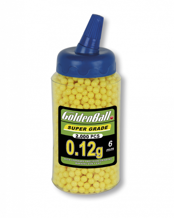 AirSoft lodītes 6 mm Martinez Albainox BB Goldenball 2000 gab art.35011