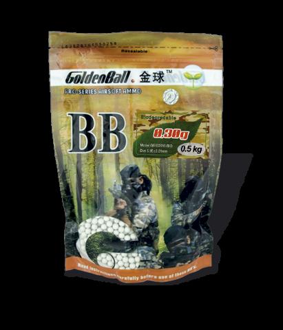 AirSoft шарики Bio GoldenBall Martinez Albainox 0.5kg,0.3g art.35659