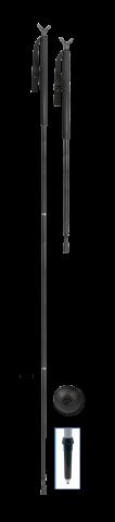Medību spieķis(3daļīgs) 1.9 m