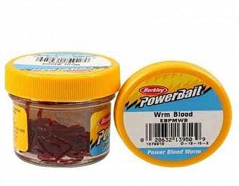 Mākslīgais motilis Berkley PowerBait Micro Blood Worms 70 gb. art.1079210