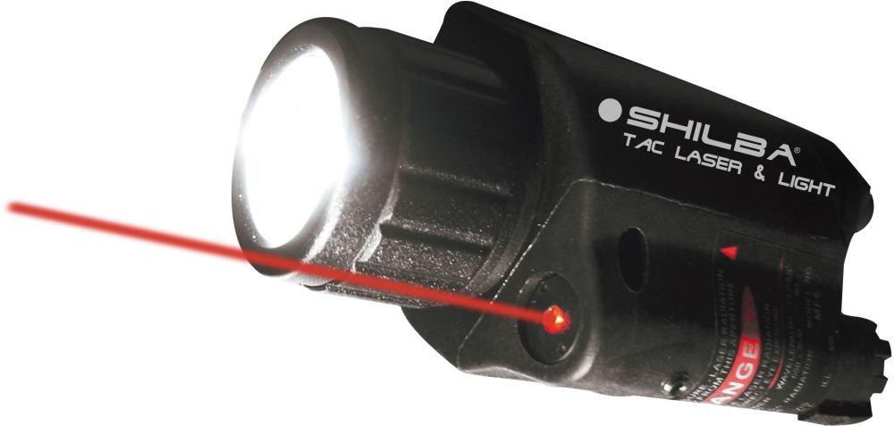 Taktaskais lukturis Shilba ar laseru