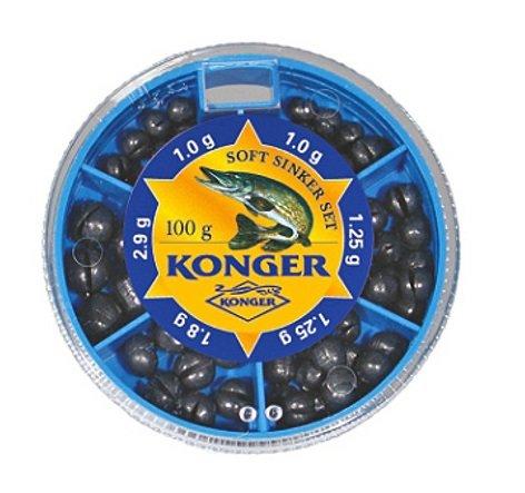 Набор мелких дробинок Konger 50gr - 70gr art.6647010
