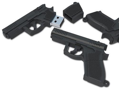 USB Atmiņas karte GLOCK 8 GB art.31007