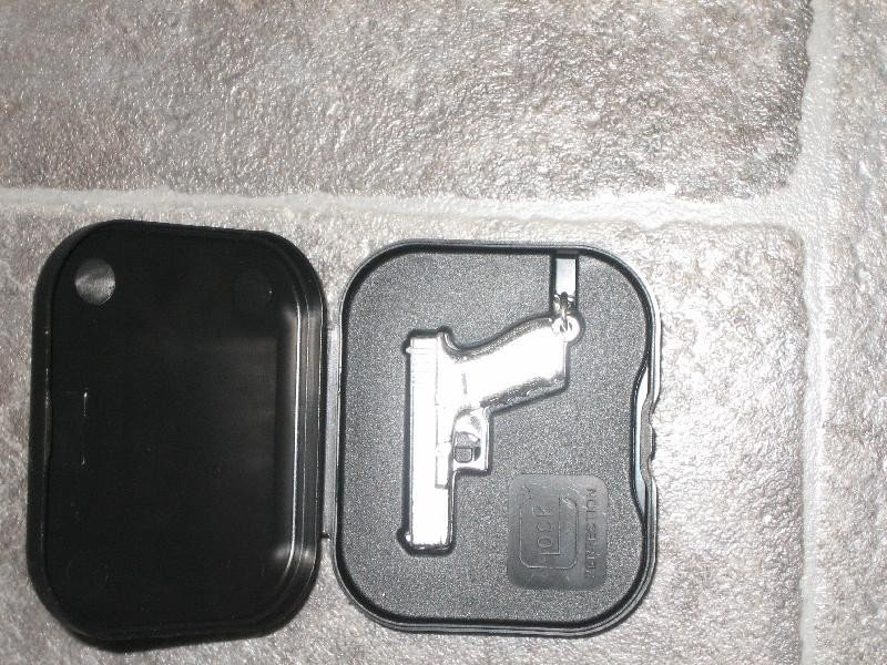 Glock breloks sudrabots art.4665