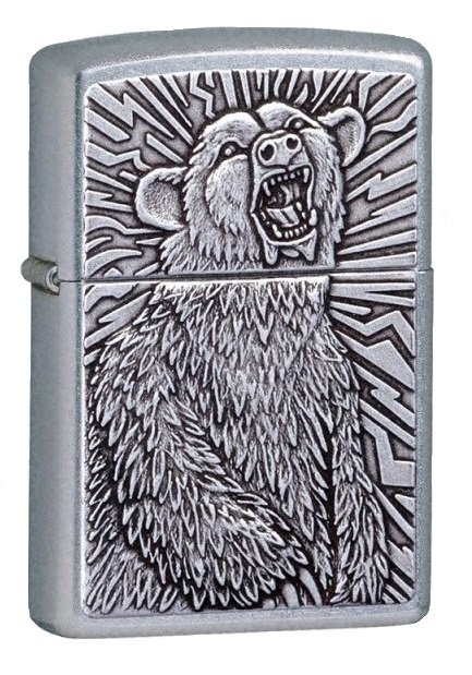 """ZIPPO šķiltavas """"Grizzly Bear"""" 21231 art.65056"""