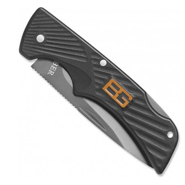 Nazis Gerber Bear Grylls Compact Scout, Drop Point, Serrated art.31-000760