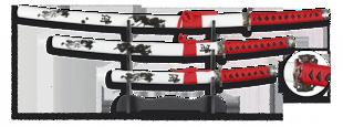 Комплект катана Martinez Albainox TOLE10 Samurais