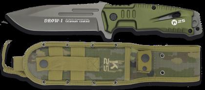 Нож  Martinez Albainox K25 Drow-I Green art.32173