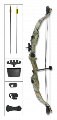 Kit compound bow. Martinez Albainox 25 lbs Camo art.37087