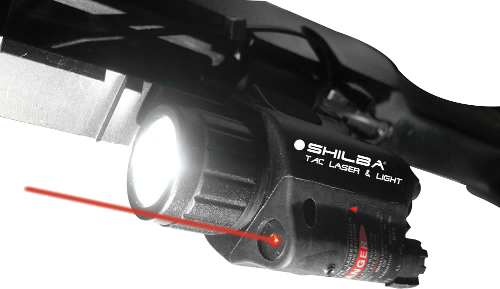 Tactical light Shilba with laser