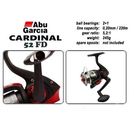 Катушка безынерционная Abu Garcia Cardinal 52 FD/54FD