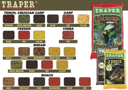 Zivju papildbarība (maisījums) TRAPER «SECRET» 1kg