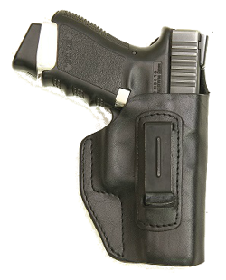 Belt holster-leather, press fitted IV CLIP PR