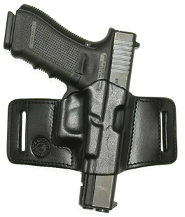 Belt holster-leather, press fitted M2 PR