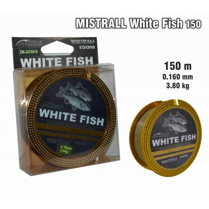 "Леска Mistrall ""White Fish"" 016 art.MWFISH-016"