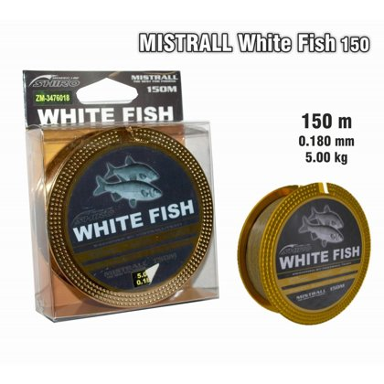 "Леска Mistrall ""White Fish"" 018 art.MWFISH-018"