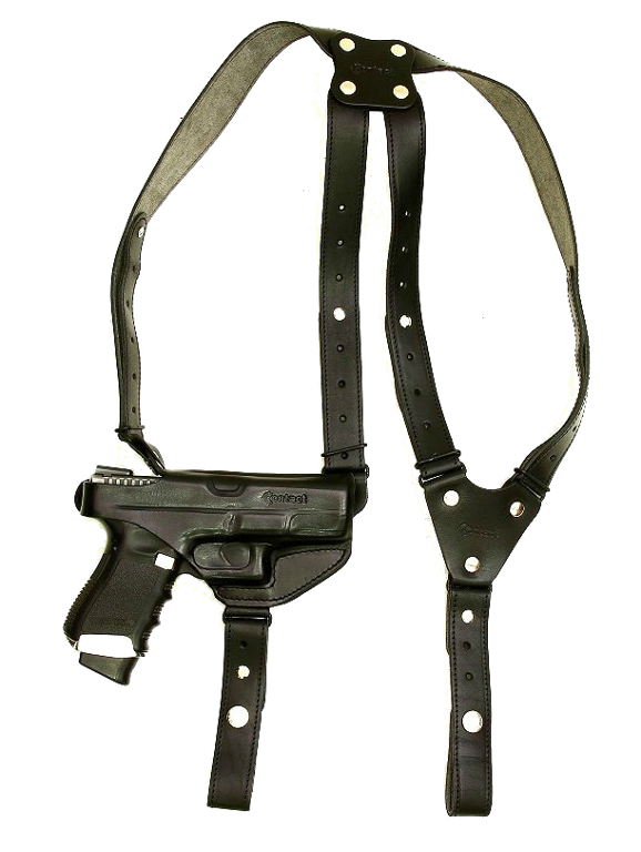 Shoulder holster-leather, hand molded OPM-H