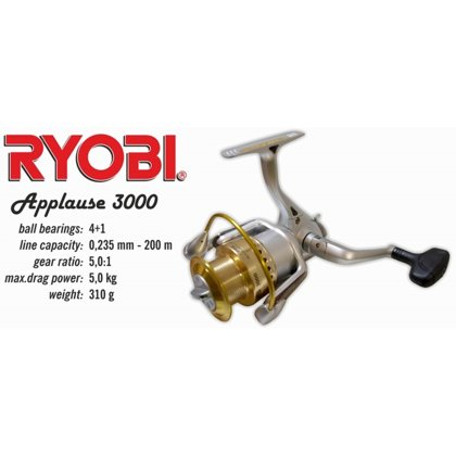 "Spole Ryobi ""Applause"" 3000 art.SP-RY-APP3000"