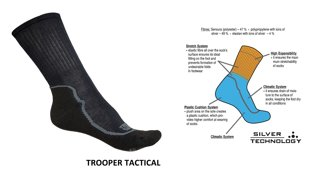Taktiskās zeķes TROOPER Tactical