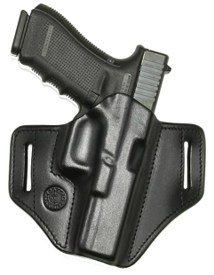 Belt holster-leather, press fitted V2 PR