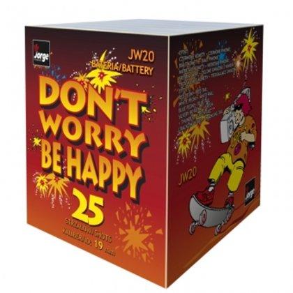 "Салютный блок ""Don`t worry be happy"""