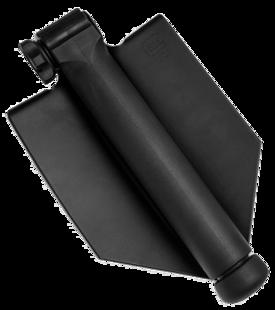 Glock daudzfinkcionāla atvāžama sapieru lāpstiņa, rokturī paslēpts zāģis
