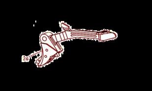 №26 Спусковой крючок с тягой спуска для Glock 42