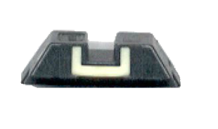 Rear night sight luminescent Glock