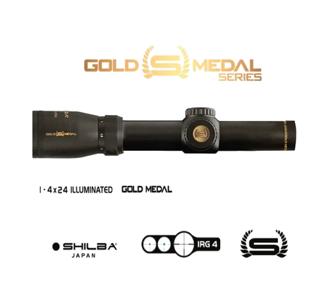 Riflescope Shilba GOLD MEDAL series 1-4x24 IRG 4