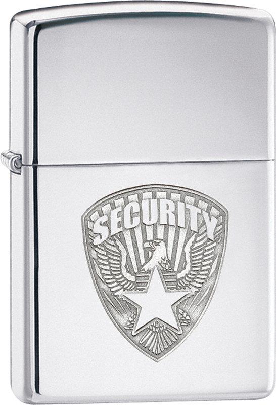 "ZIPPO šķiltavas ""Security"" 24703 art.24703"