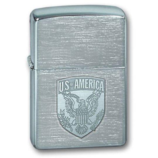 """ZIPPO šķiltavas """"US Of America Eagle"""" 100.108 art.100.108"""