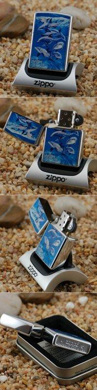"ZIPPO šķiltavas ""Bottlenose Dolphin"" 21051 art.21051"